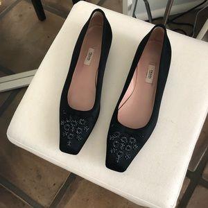 Vintage Prada kitten heels